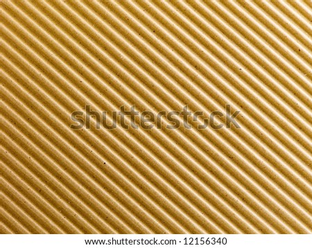 Corrugated paper background.
