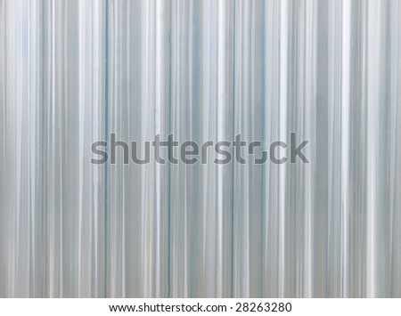 corrugated transparent plastic texture