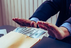 corruption on officials in order to obtain items and projects that they want as an offense by giving money for corruption. The idea of combating and preventing corruption by government officials