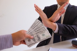 Corruption Proposal Money for business fraud, construction, illegal lobbying for government officials or service providersWorker denies receiving illegal money.
