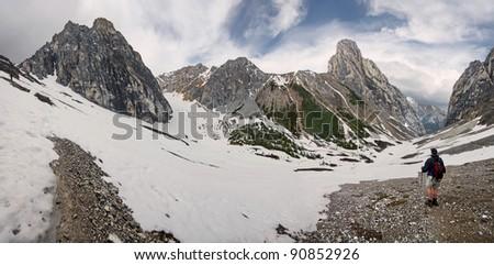 Cory Pass, Near Banff, Banff National Park, Alberta, Canada.