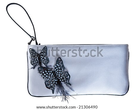 cosmetic bag butterfly