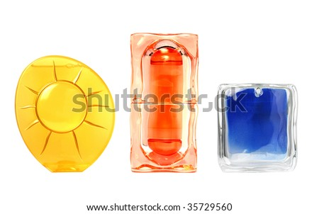 cosmetic bottles set