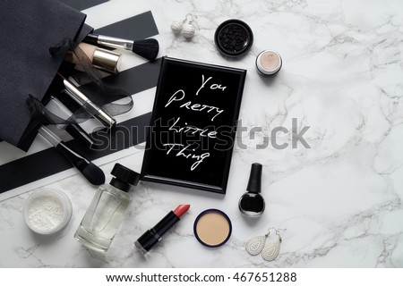 Cosmetic, fashion, beauty