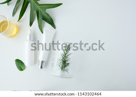 cosmetic nature skincare and essential oil aromatherapy .organic natural science beauty product .herbal alternative medicine . mock up. #1143102464