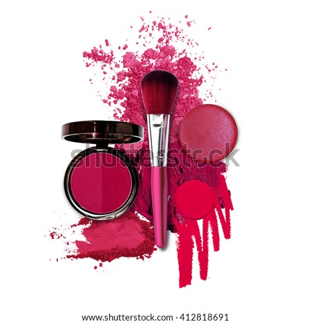 cosmetic pink fashion theme