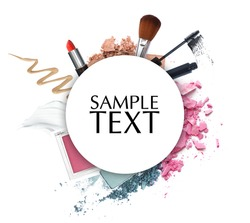 cosmetic promotion circle frame