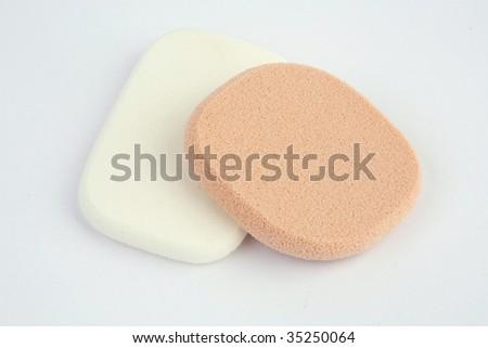 cosmetic sponge isolated #35250064
