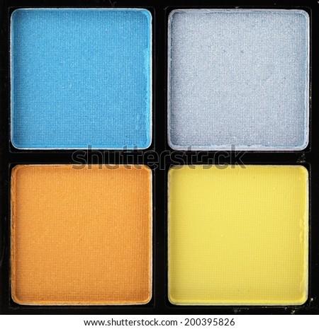 Cosmetics colorful eyeshadow pallette