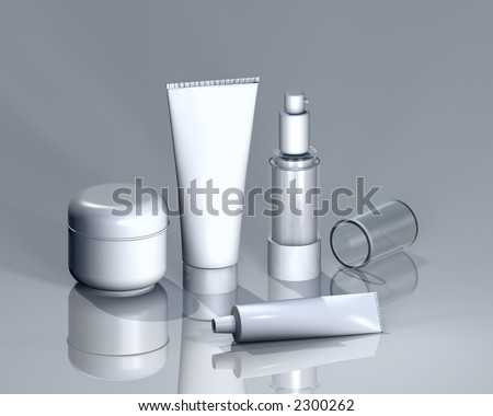 Cosmetics for logo presentation or other renditions