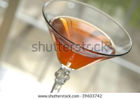 Cosmopolitan Martini - stock photo