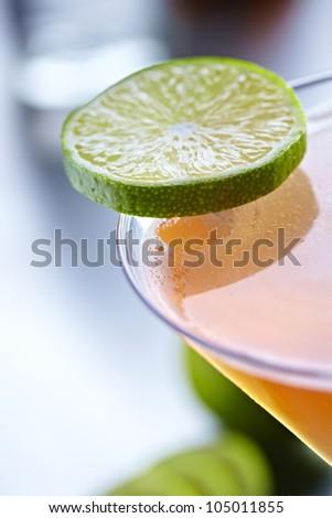 Cosmopolitan Red Drink Cocktail