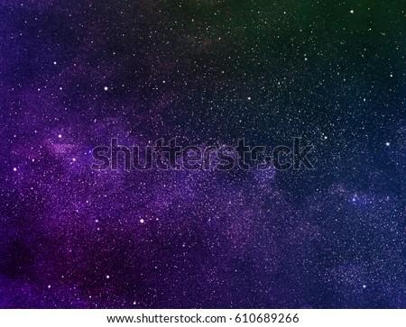 Cosmos starry sky