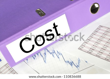 COST  folder on a market report