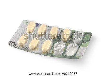Cost of Healthcare - stock photo