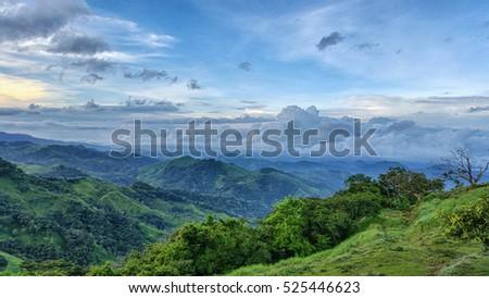 Costa Rica landscape #525446623