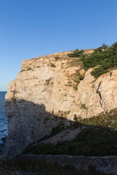 costal cliff view of Jiuzhangya