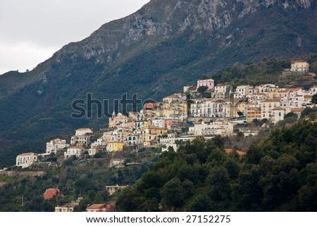 Costiera Amalfitana (Amalfi Coast) on the Sorrentine Peninsula, Near Positano Salerno, Campania, Italy