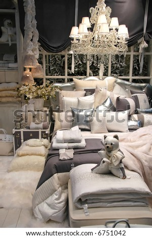 Cosy winter interior