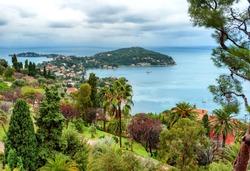 Cote d'Azur mediterranean coast