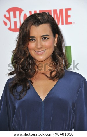 cote de pablo star of ncis at the cbs summer