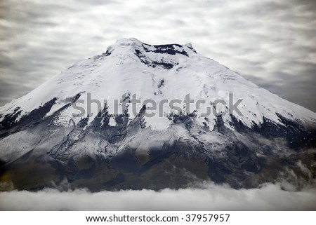 Cotopaxi is the highest active volcano in the world