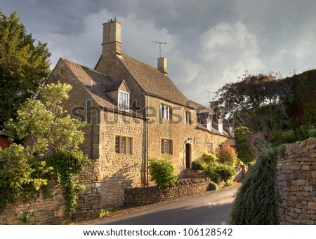 Cotswold house in the pretty village of Ebrington, Gloucestershire