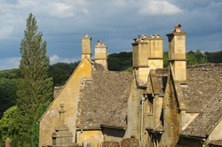Cotswold roof tops