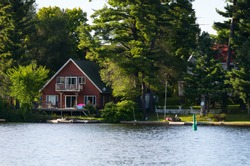 Cottage at the lake