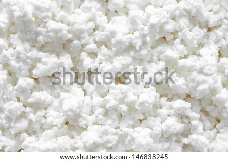 Cottage cheese background