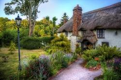 Cottage in a British Village