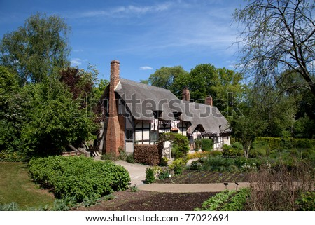 Cottage where Shakespeare courted his future wife