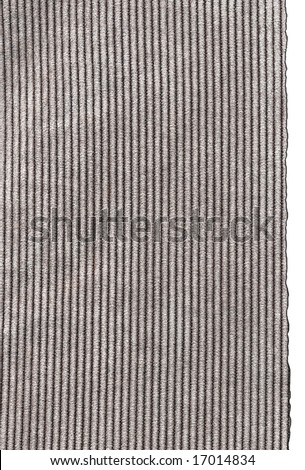 Cotton background with torn edges.