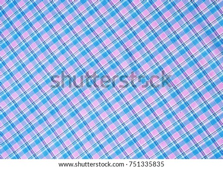 Cotton Fabric Texture Background Checkered Colour Ez Canvas