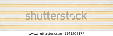 Cotton fabric texture, background, striped, with yellow stripes #1141203179