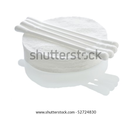 cotton sticks and pads