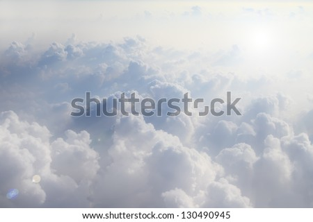 could view image from window of air plane