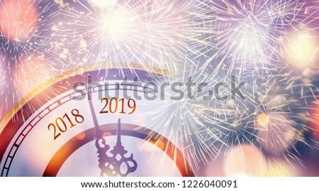 countdown new year 2019 #1226040091