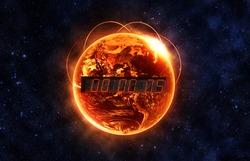 Countdown to Doomsday - Elements of this image furnished by NASA