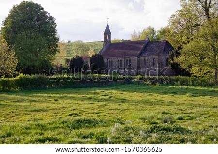 Country church, Milborne Port, Sherborne, Dorset, UK