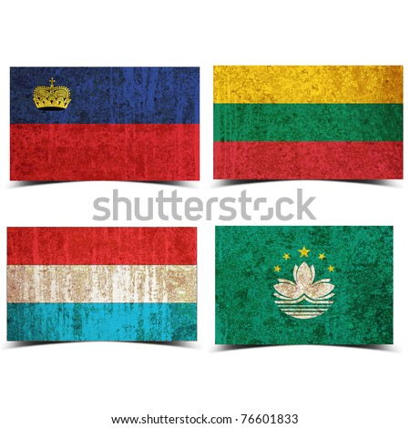 stock photo : Country flag