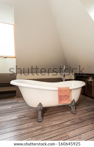 Country home - bathtube on the attic #160645925