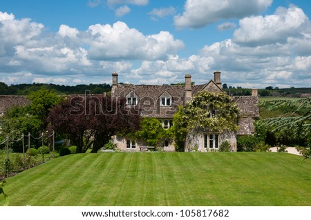 country house in England