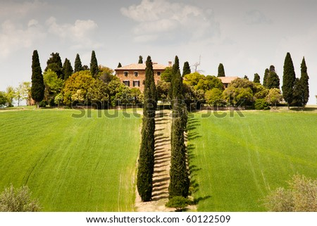 Country house near San Quirico d´Orcia, Tuscany, Italy