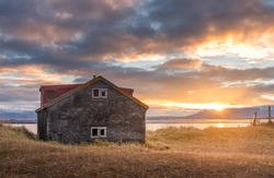 country house style in iceland