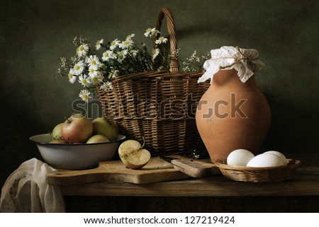 Country life still life