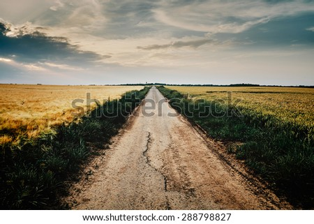Country road #288798827