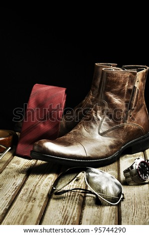 Country style leather