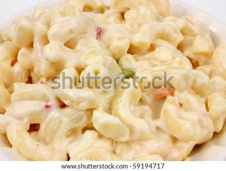 Country style macaroni salad