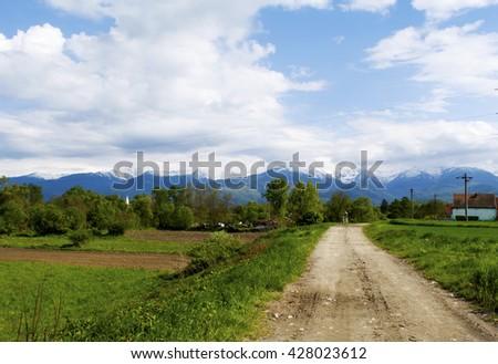 countryside #428023612